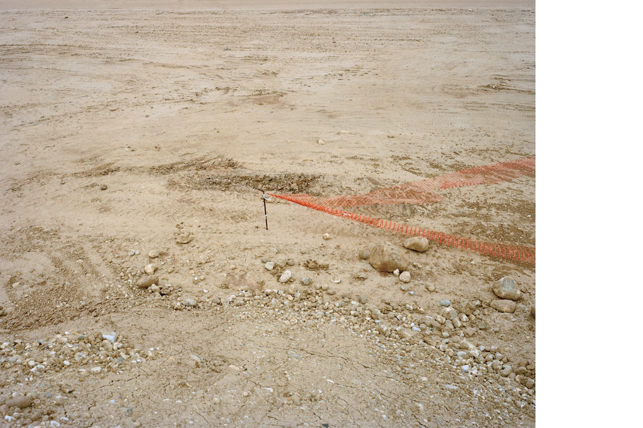 Landmark. From 'Antofagasta Plc. Stop Abuses! (from 'Copper Geographies'), Pupio Valley, Chile, 2010 © Ignacio Acosta