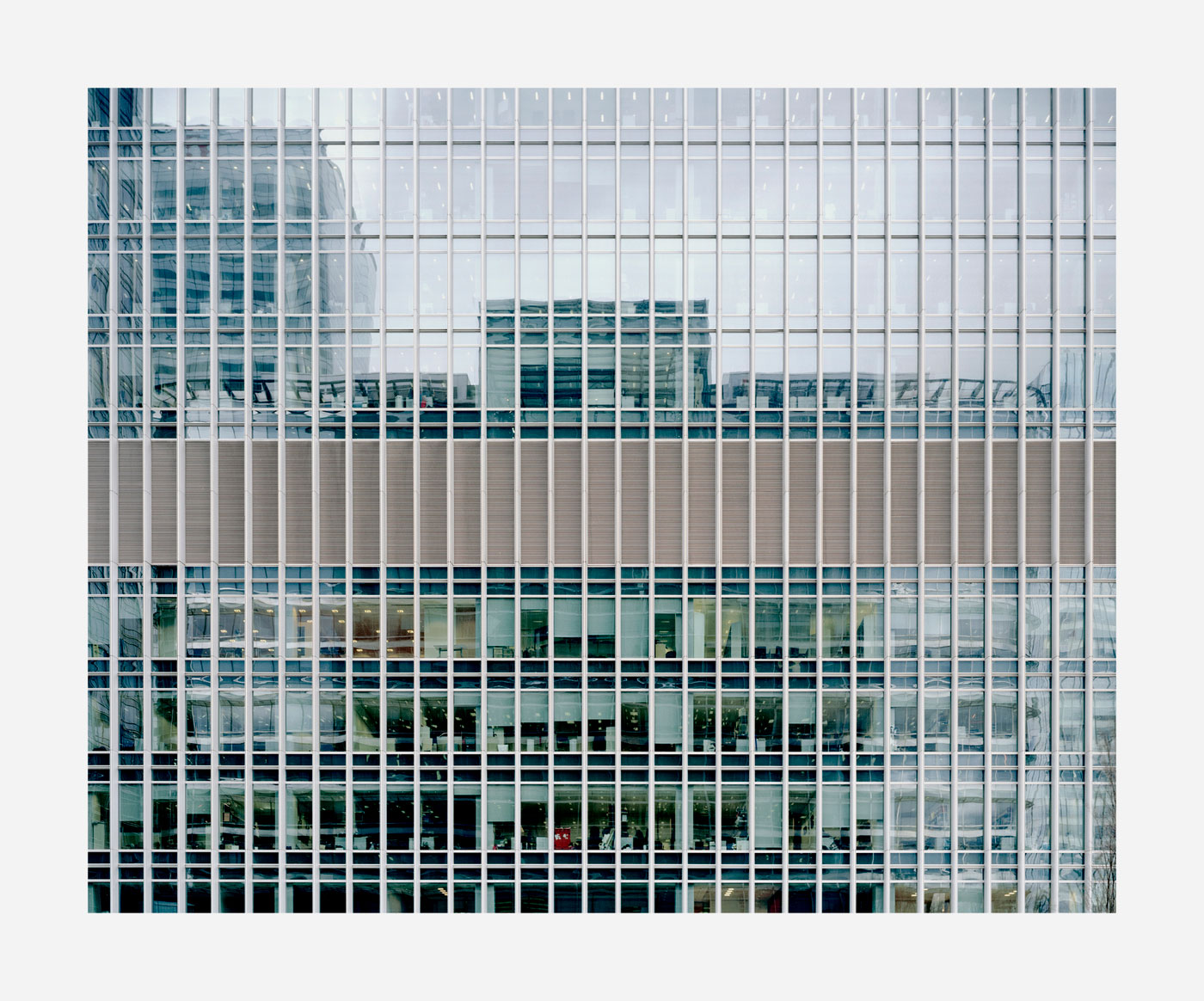 From the series 'Mapping the Zone', Canary Wharf, London, 2010