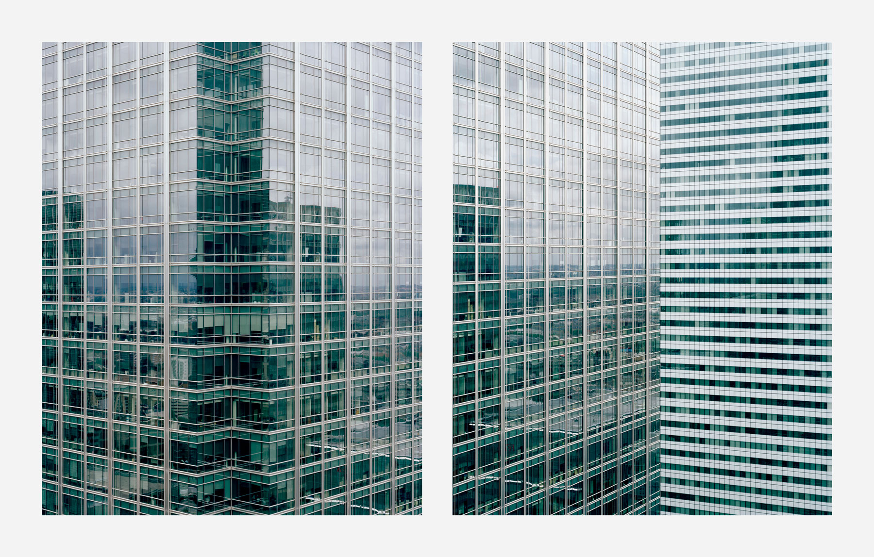From the series 'Mapping the Zone', Canary Wharf, London, 2010 © Ignacio Acosta