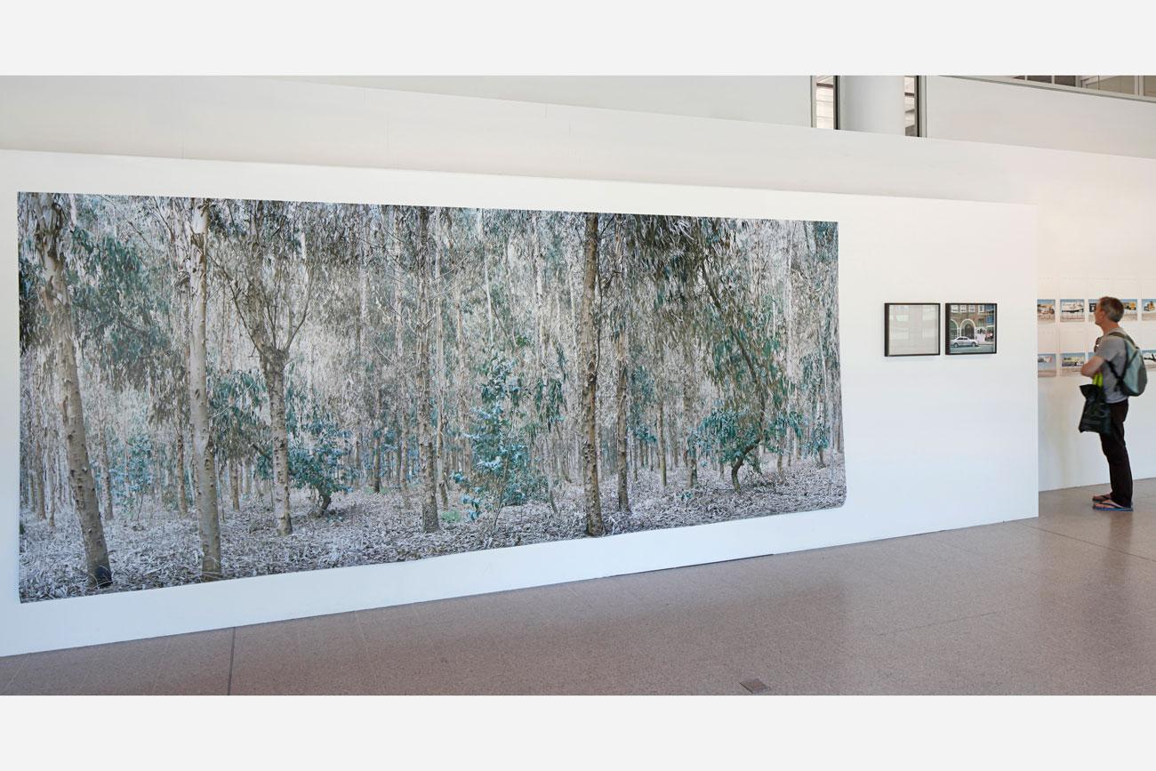 Installation Surface Exposure, University of Brighton by artist Ignacio Acosta