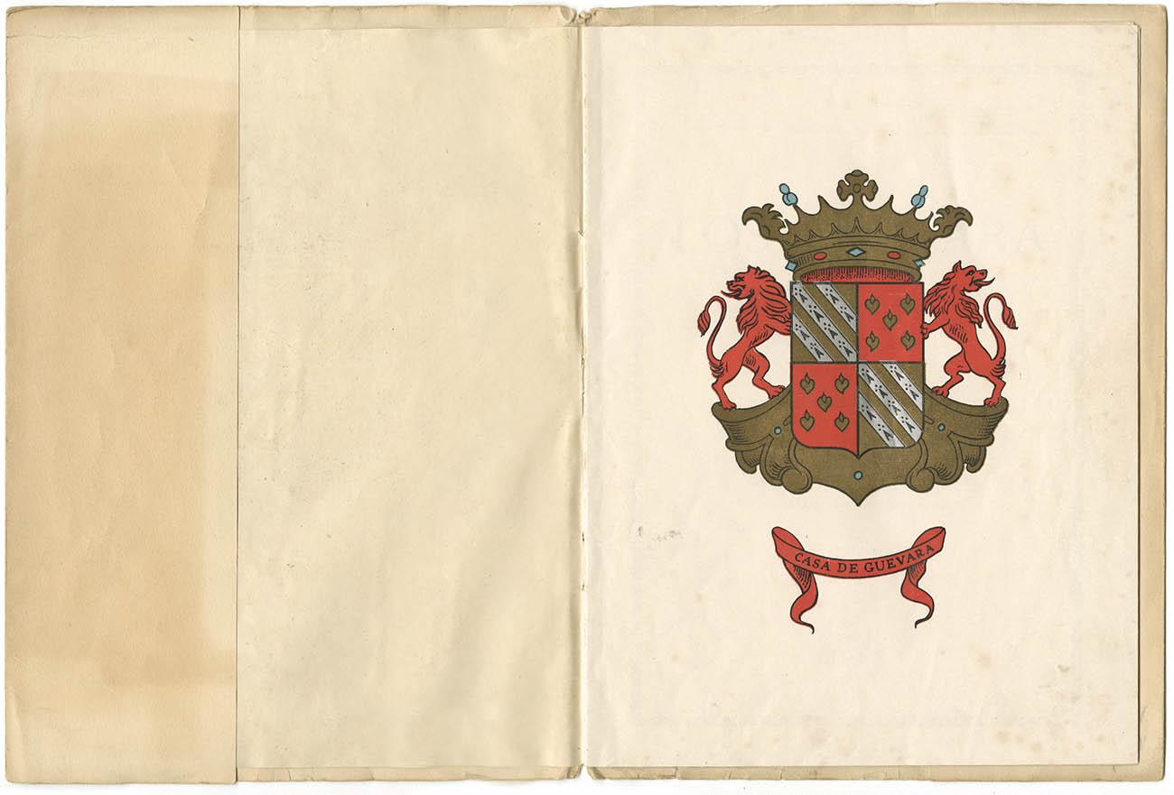 Errenderi, Z. LosGuevara de Chile: BreveGenealogía. Santiago: Sociedad Heráldica Vasca, 1955