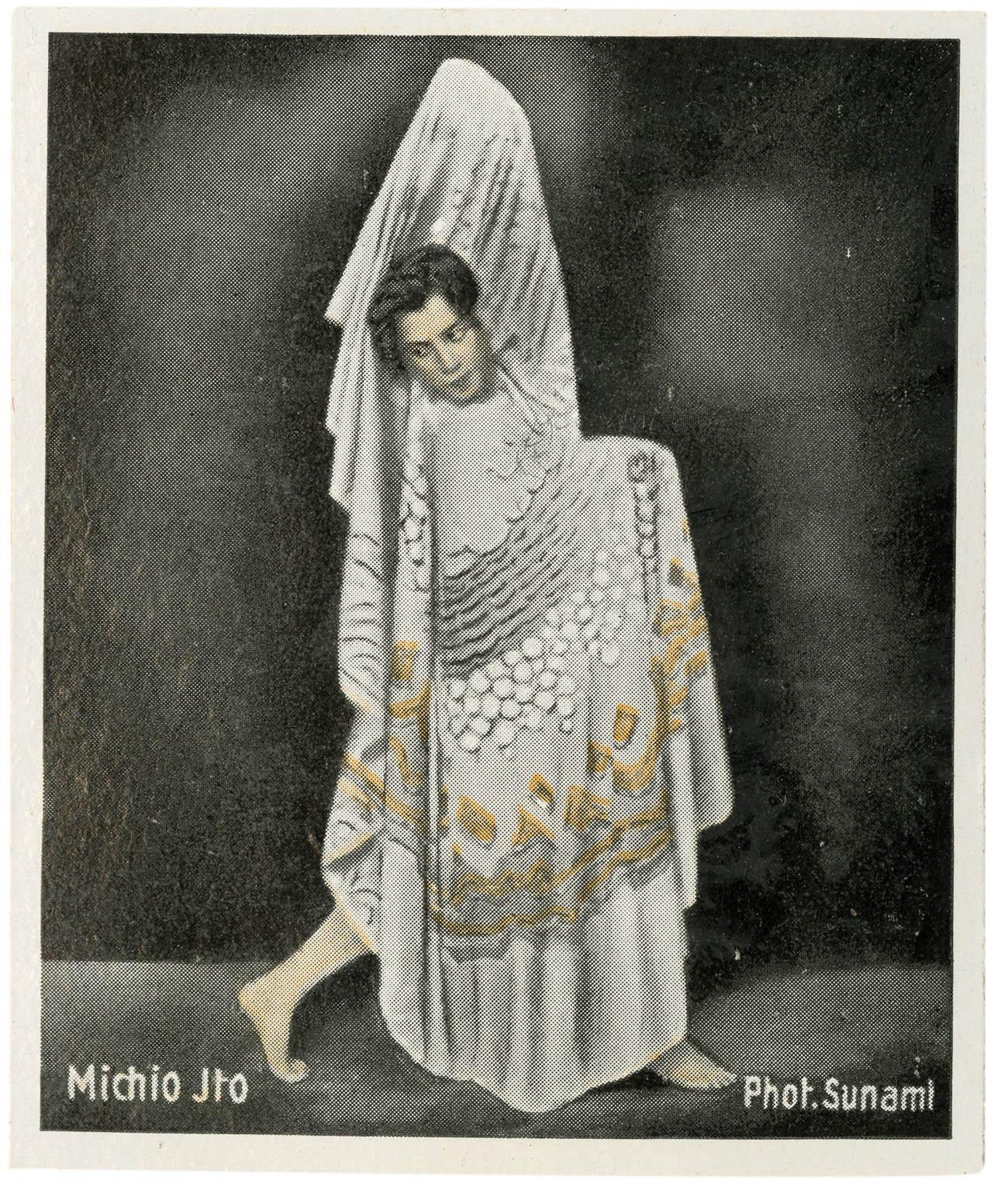 Álvaro's lover Michio Itō (1892-1961). Eckstein-Halpaus of Dresden c. 1932