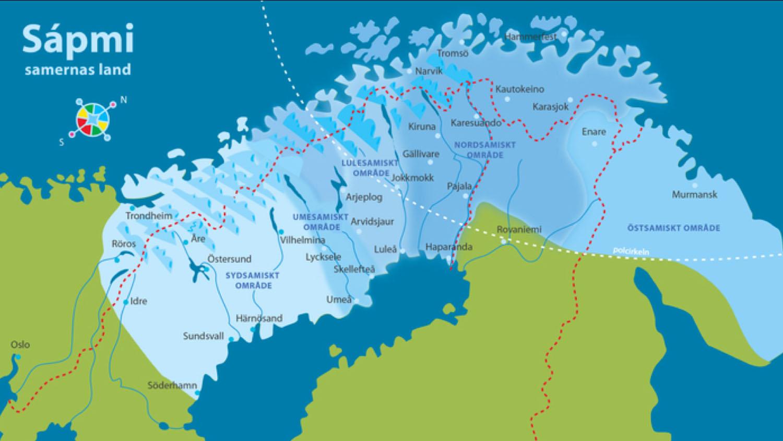 Sápmi, the home of the Sámi people