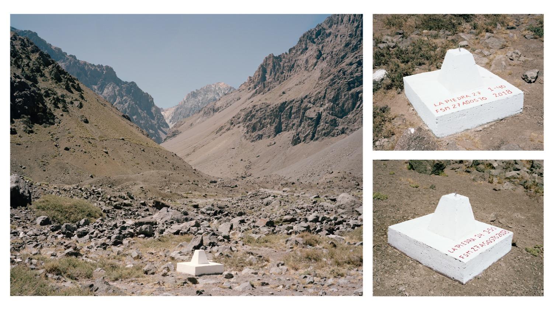 Selección de documentos e imagenes en torno al proyecto de explotación minera Proyecto Caliente en el Parque Andino Juncal. Reunidos en colaboración con Tomas Dinges, 2019