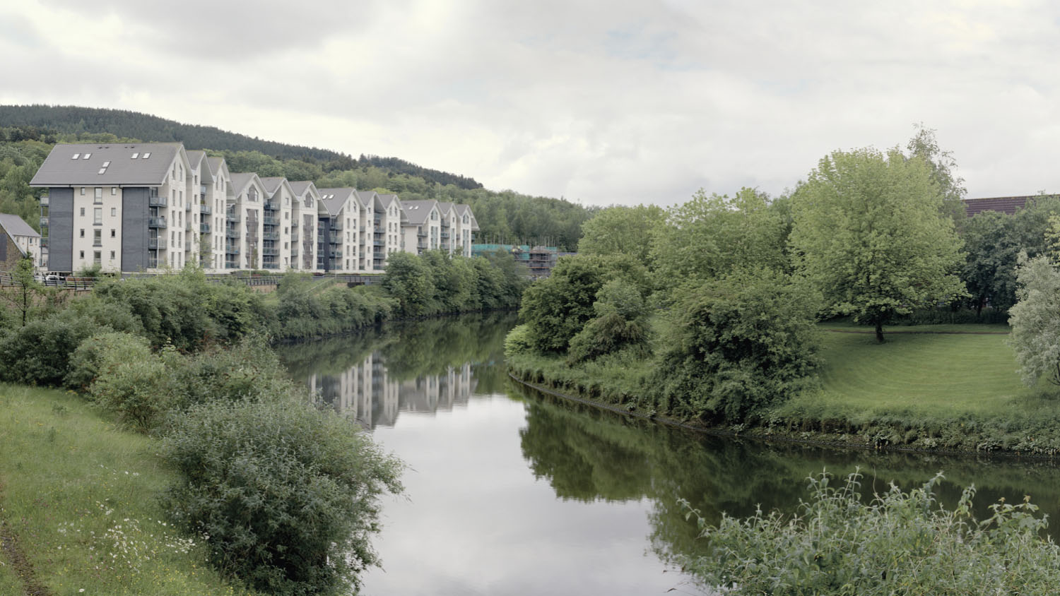 Former copper smelting site. Lower Swansea Valley, Wales 2014