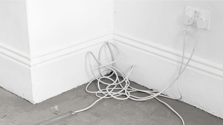 144 Electrical wire. Slade School of Arts, London, England, 2017