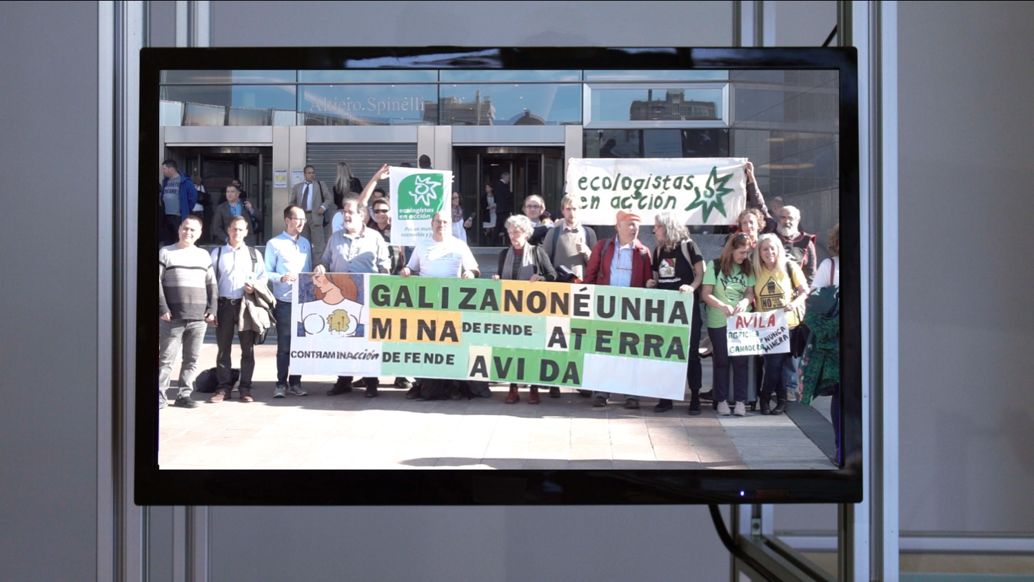 Europe, the New Extractivist Frontier, 2018, 00:43 min. Video produced for Ecologistas en Acción (Spain)